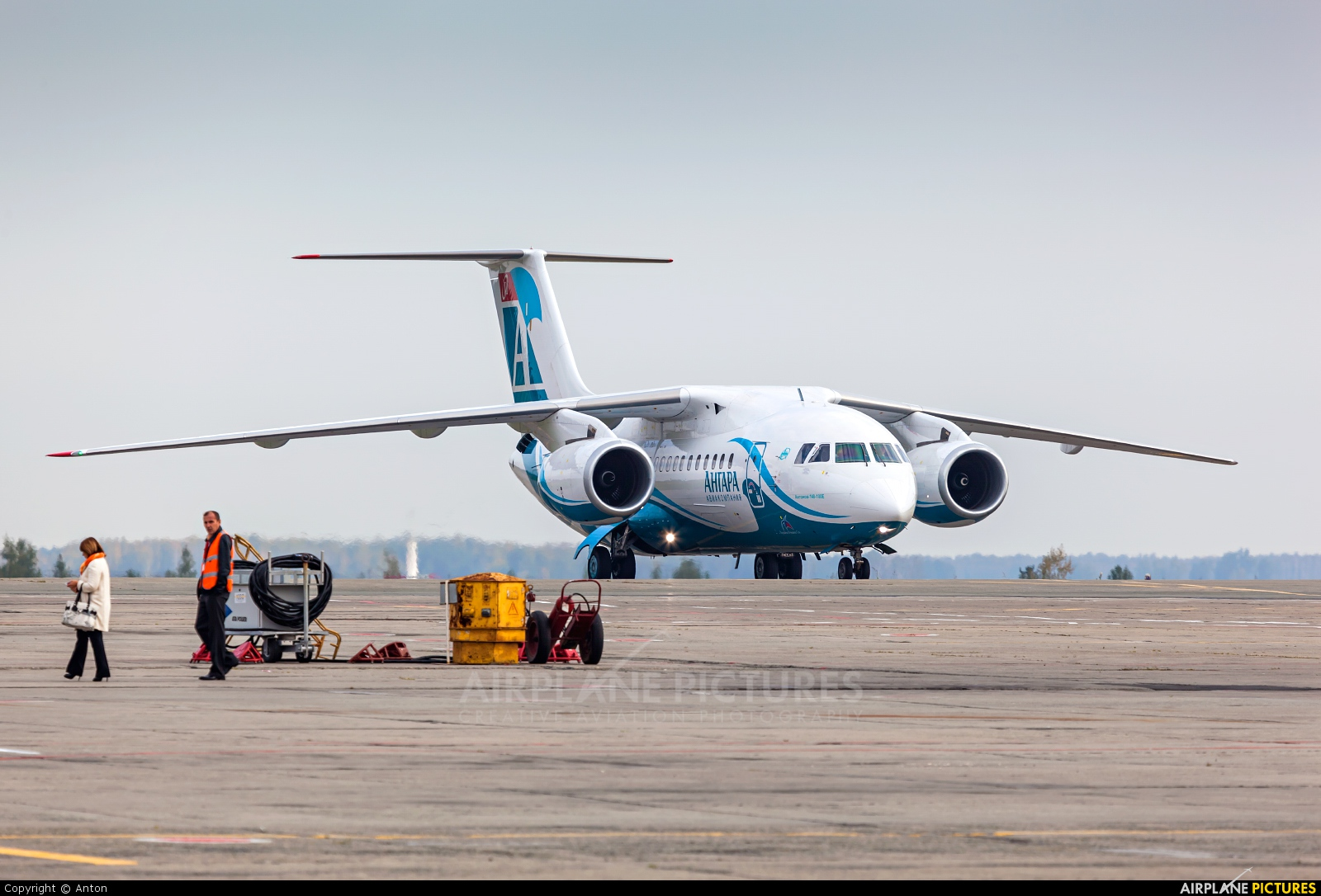 Angara Airlines RA-61713 aircraft at Chelyabinsk