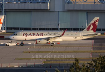 F-WWBG - Qatar Airways Airbus A320