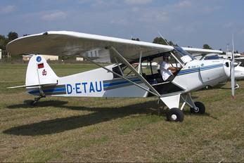 D-ETAU - Private Piper PA-18 Super Cub