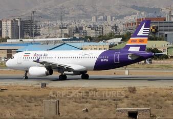 EP-TTA - Atrak Air Airbus A320