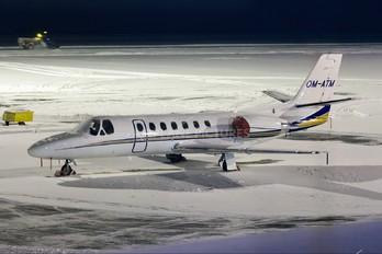 OM-ATM - Air Transport Europe Cessna 560 Citation Encore