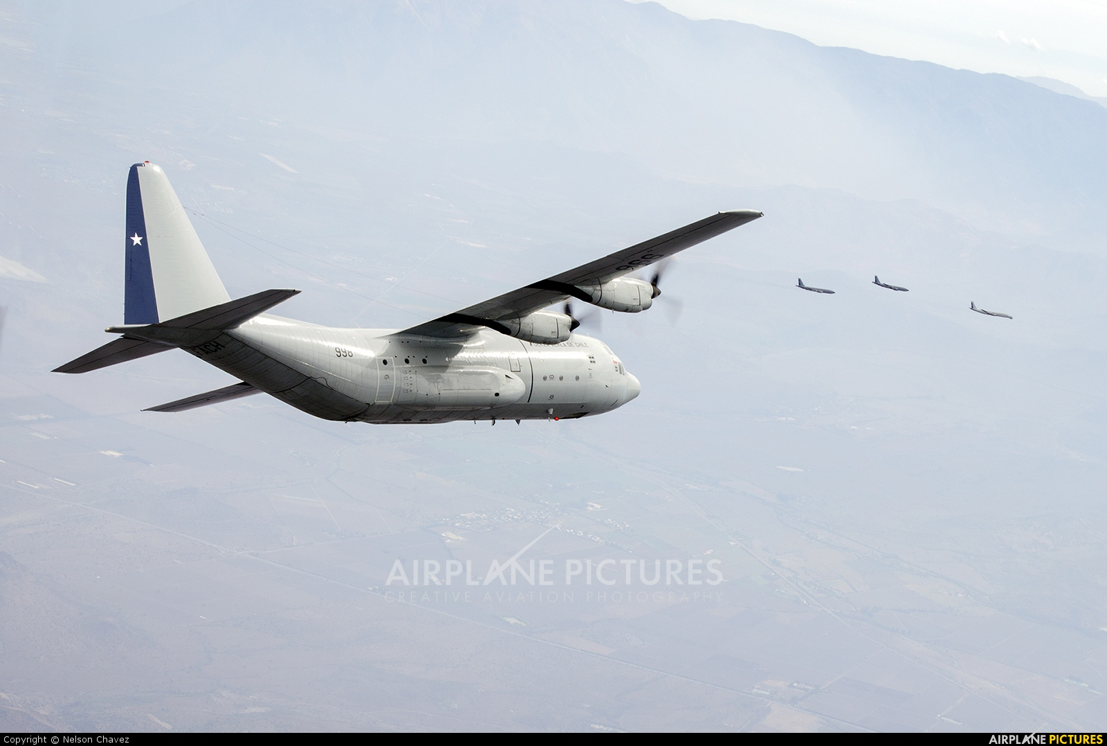 Chile - Air Force 998 aircraft at In Flight - Chile