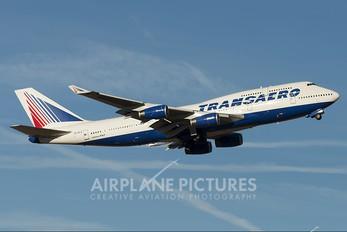 EI-XLZ - Transaero Airlines Boeing 747-400