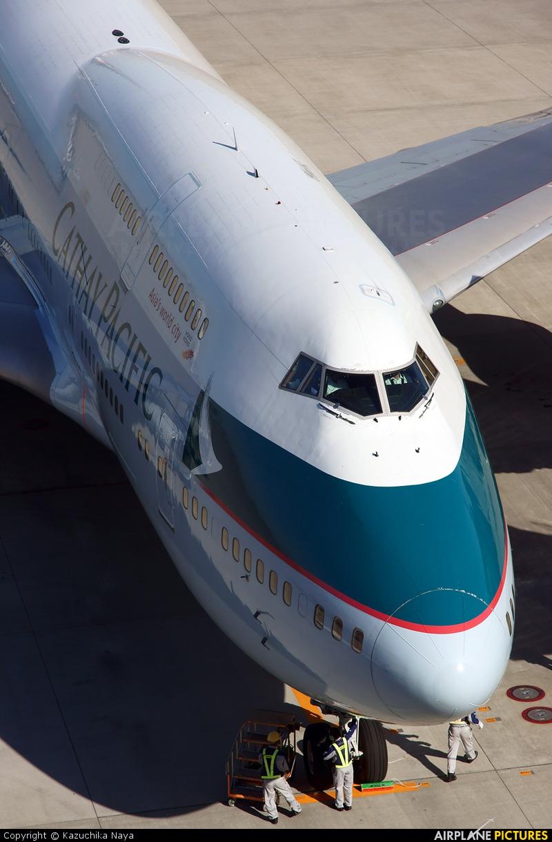 Cathay Pacific B-HOR aircraft at Tokyo - Haneda Intl