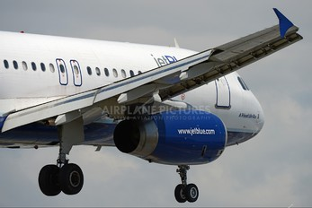 N627JB - JetBlue Airways Airbus A320