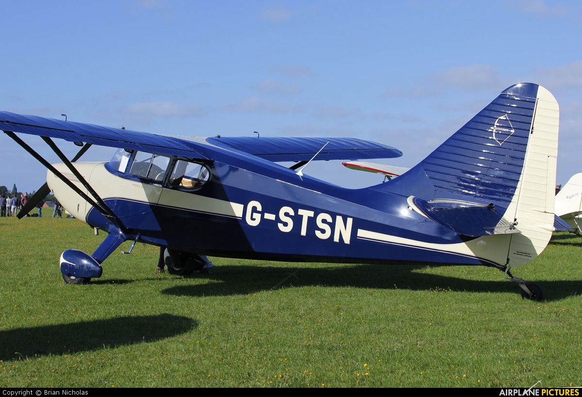 Private G-STSN aircraft at Northampton / Sywell