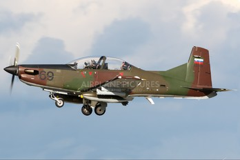 L9-69 - Slovenia - Air Force Pilatus PC-9M