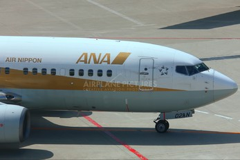 JA02AN - ANA/ANK - Air Nippon Boeing 737-700