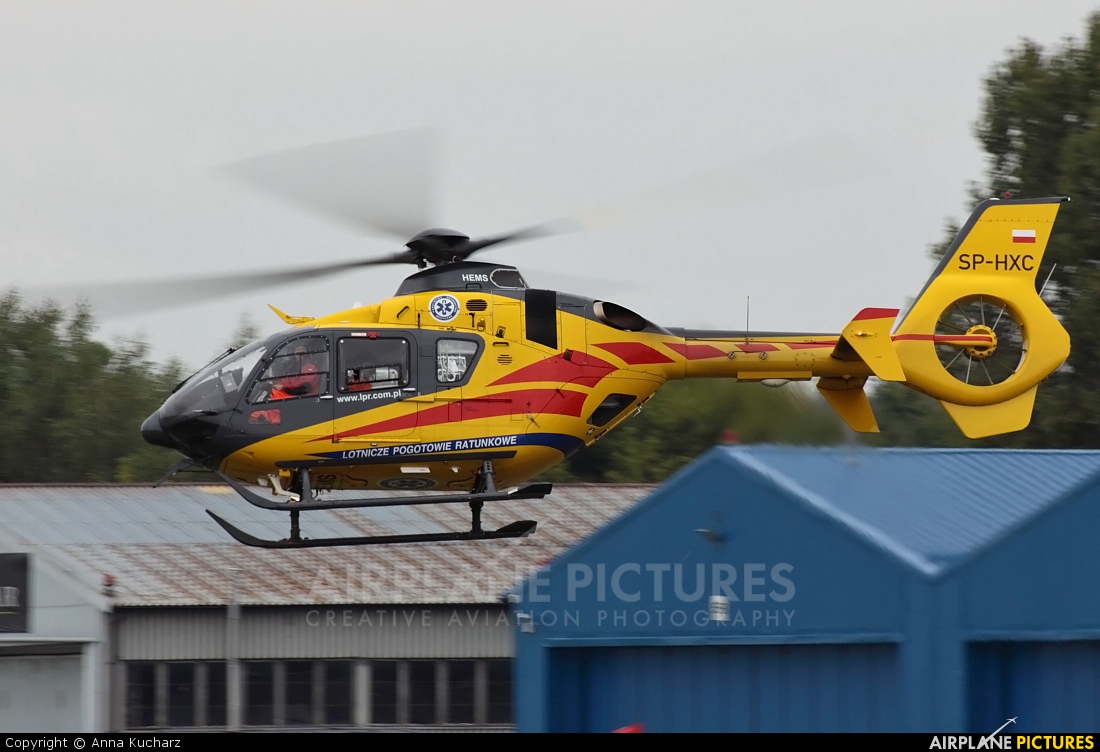 Polish Medical Air Rescue - Lotnicze Pogotowie Ratunkowe SP-HXC aircraft at Warsaw - Babice