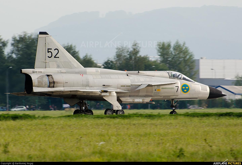 Swedish Air Force Historic Flight SE-DXN aircraft at Radom - Sadków