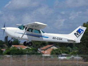 4X-CGK - Private Cessna 172 Skyhawk (all models except RG)