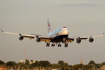 G-CIVZ - British Airways Boeing 747-400