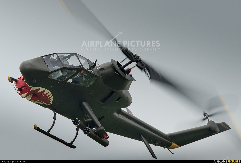 Heli Czech OK-AHC aircraft at Ostrava Mošnov