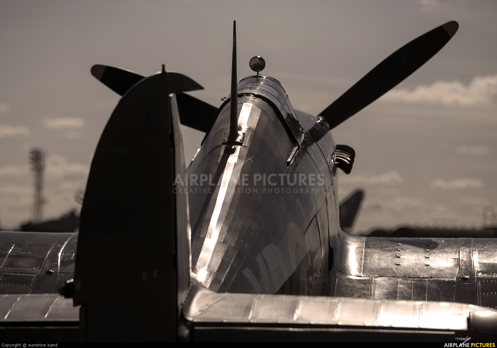 "Royal Air Force ""Battle of Britain Memorial Flight"" LF363 aircraft at Coningsby"