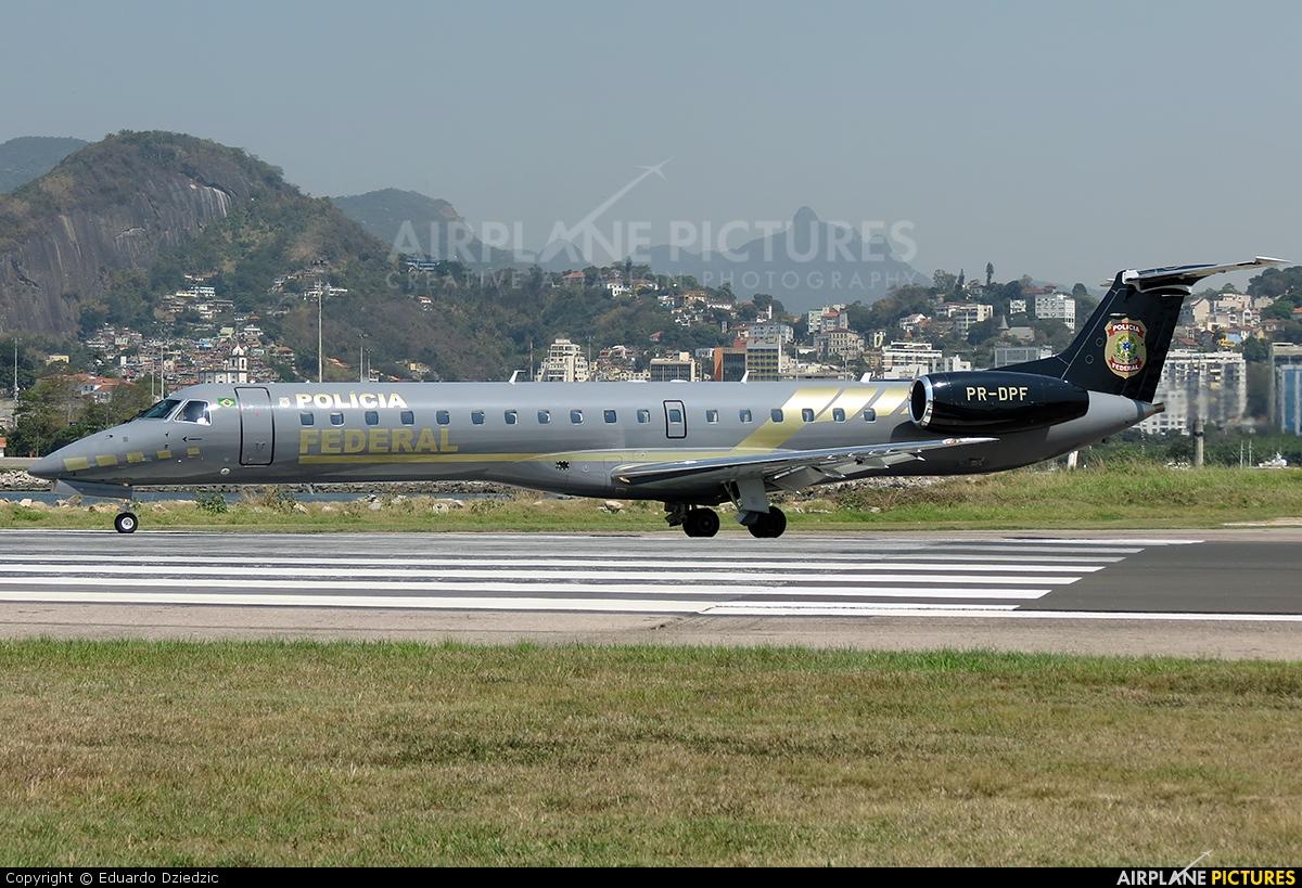 Brazil - Federal Police PR-DPF aircraft at Rio de Janeiro - Santos Dumont