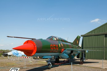 959 - Germany - Democratic Republic Air Force Mikoyan-Gurevich MiG-21PFM