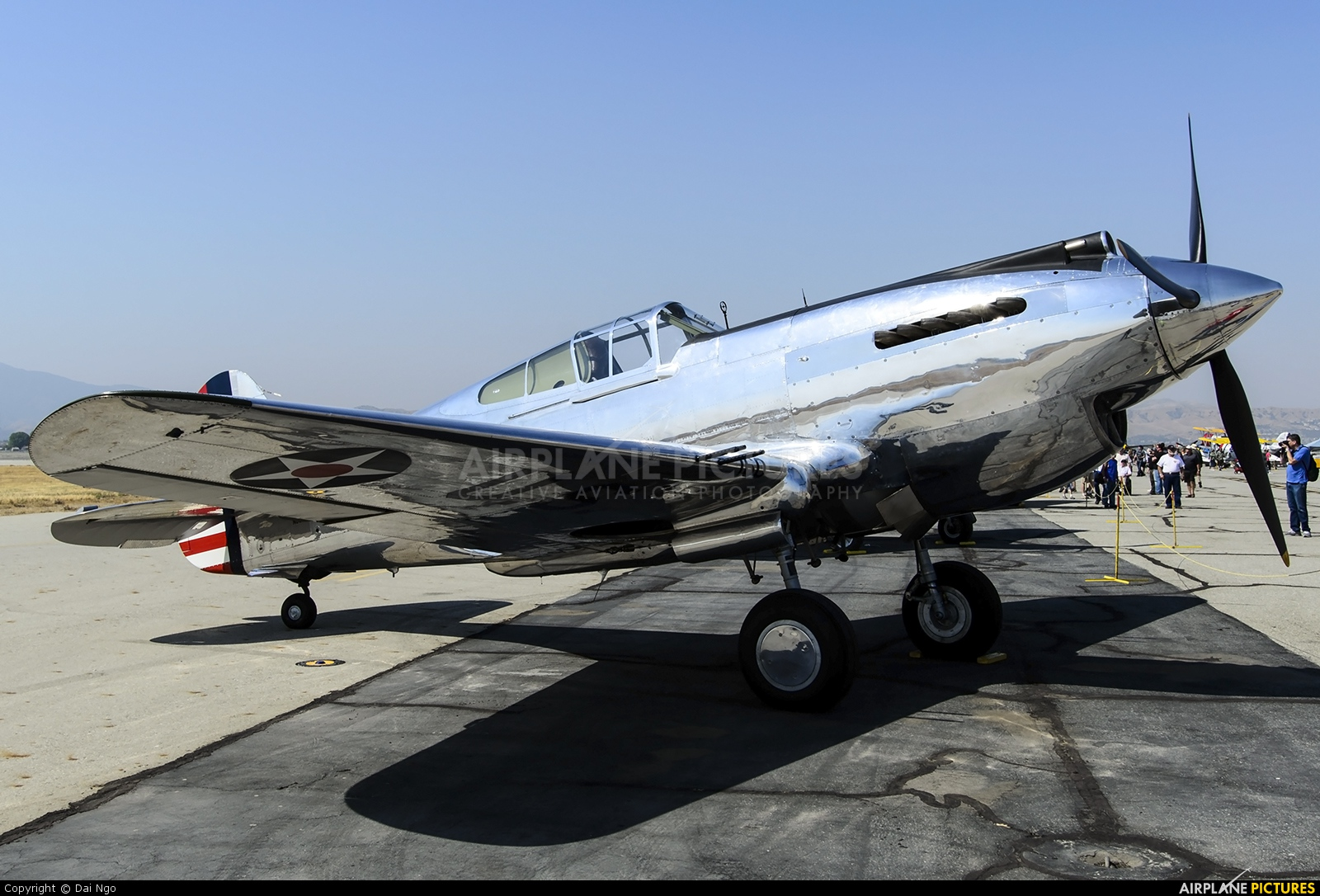 The Fighter Collection N80FR aircraft at Chino