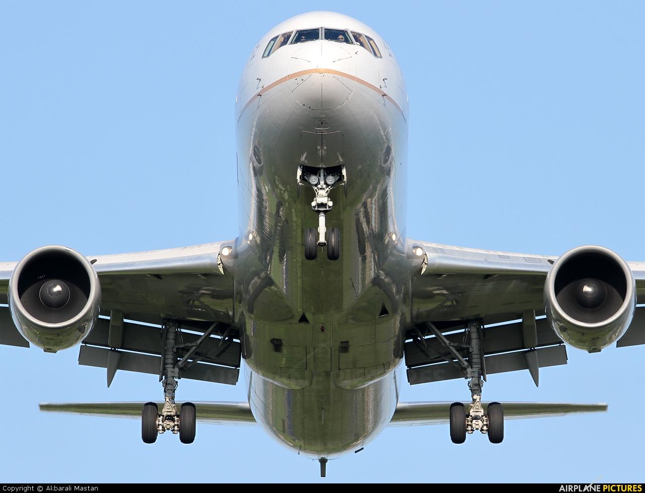 United Airlines N643UA aircraft at London - Heathrow