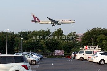 A7-BBH - Qatar Airways Boeing 777-200LR