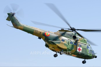11 - Romania - Air Force IAR Industria Aeronautică Română IAR 330 Puma