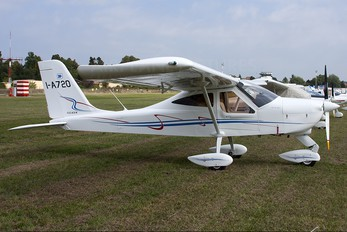 I-A720 - Private Tecnam P92 Echo, JS & Super