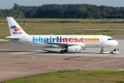 LZ-BHG - Balkan Holidays Air Airbus A320 aircraft