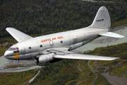 N1822M - Everts Air Fuel Curtiss C-46F Commando aircraft
