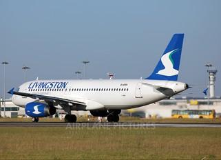 EI-ERH - Livingston Airbus A320