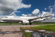 SX-DVW - Aegean Airlines Airbus A320 aircraft