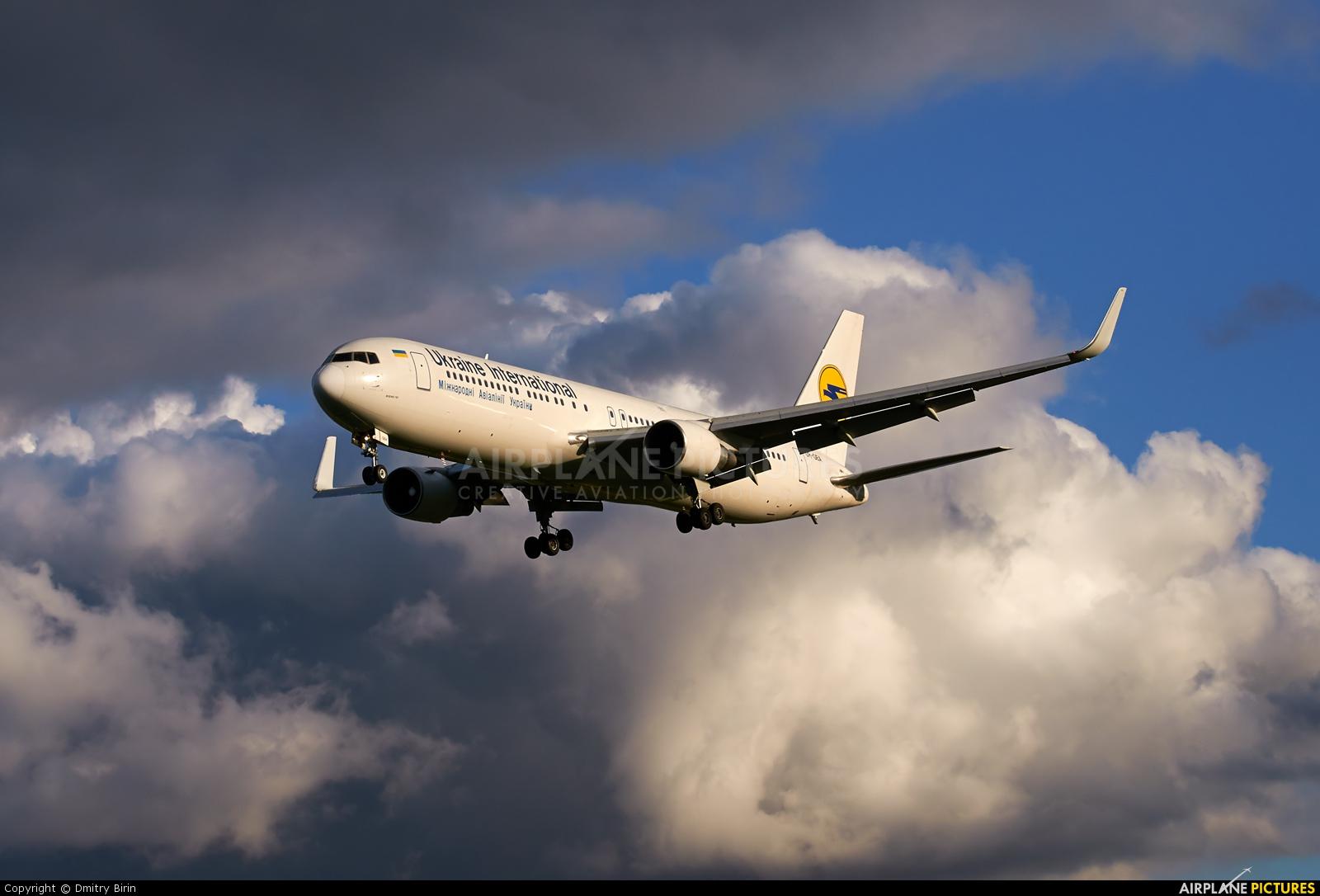 Ukraine International Airlines UR-GEA aircraft at Kyiv - Borispol