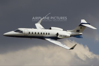 ZS-TJS - Private Learjet 45
