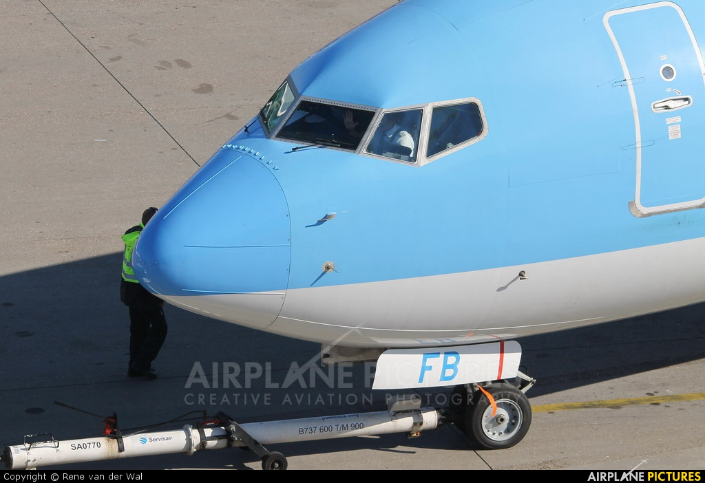 Arke/Arkefly PH-TFB aircraft at Amsterdam - Schiphol