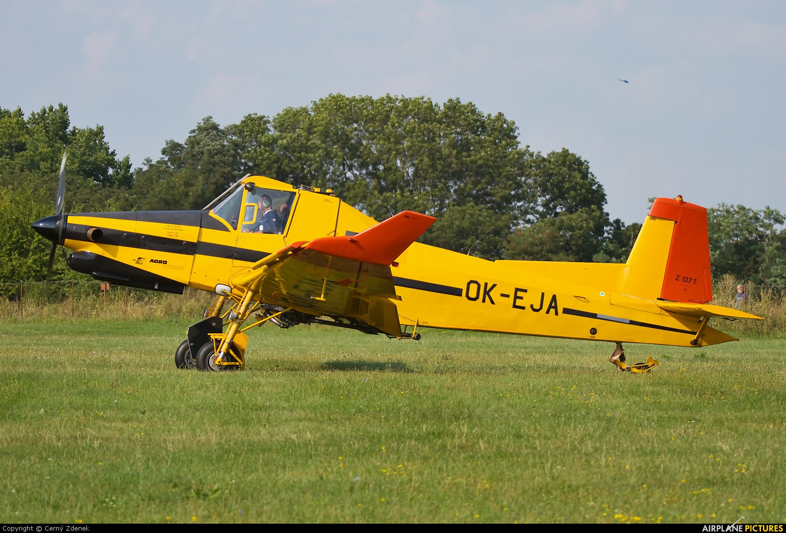 Private OK-EJA aircraft at Olomouc