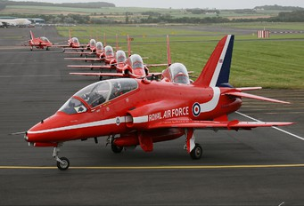 "XX219 - Royal Air Force ""Red Arrows"" British Aerospace Hawk T.1/ 1A"