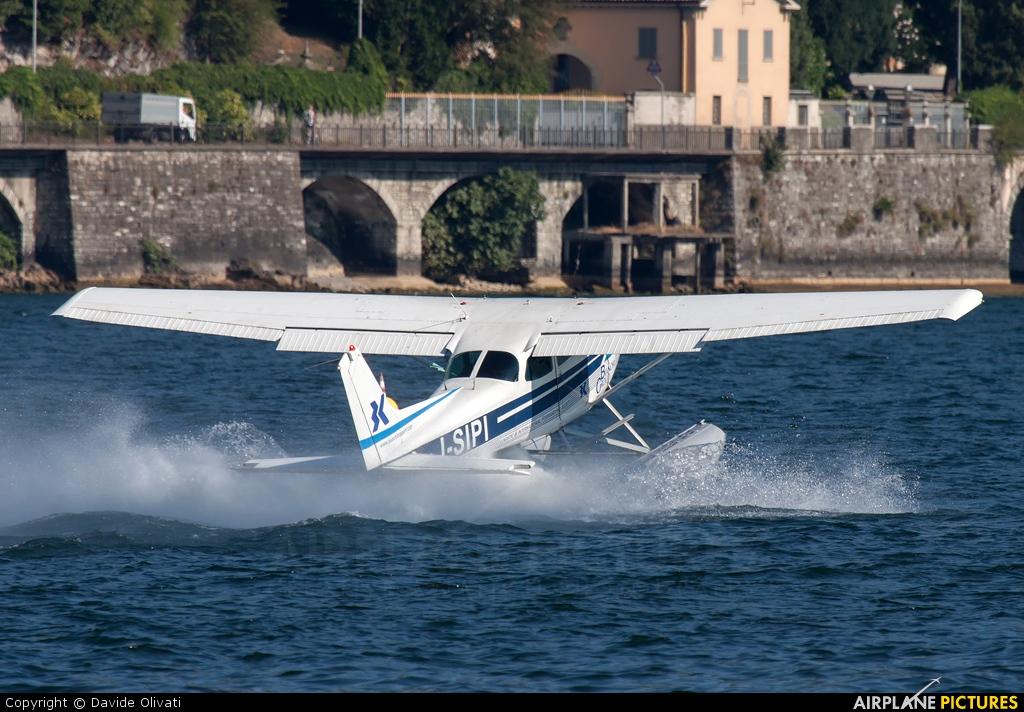 Aero Club Como I-SIPI aircraft at Como Idroscalo