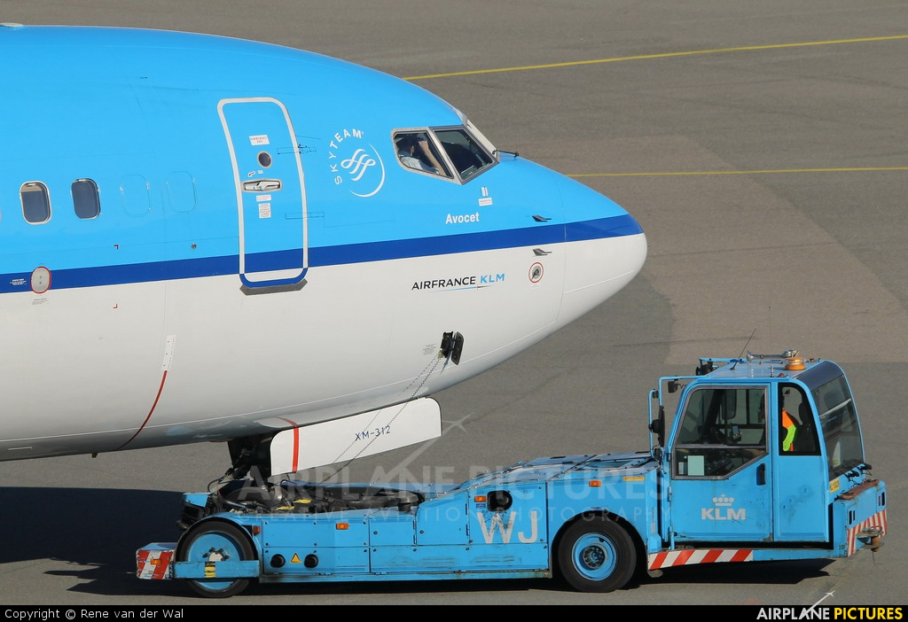 KLM PH-BXM aircraft at Amsterdam - Schiphol
