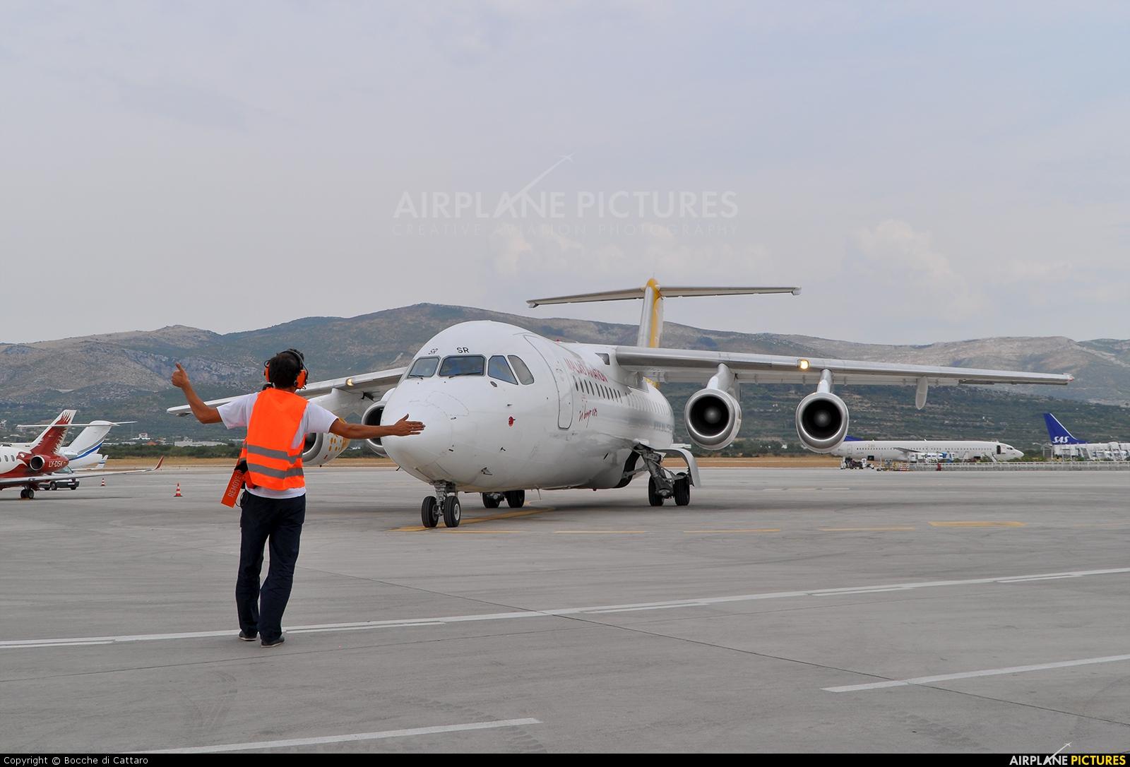 Malmo Aviation SE-DSR aircraft at Split - Kaštela