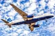 N580JB - JetBlue Airways Airbus A320 aircraft