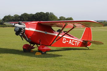 G-ACTF - The Shuttleworth Collection Comper Swift