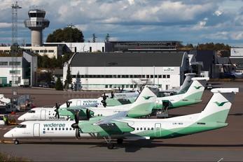 LN-WDI - Widerøe de Havilland Canada DHC-8-400Q / Bombardier Q400