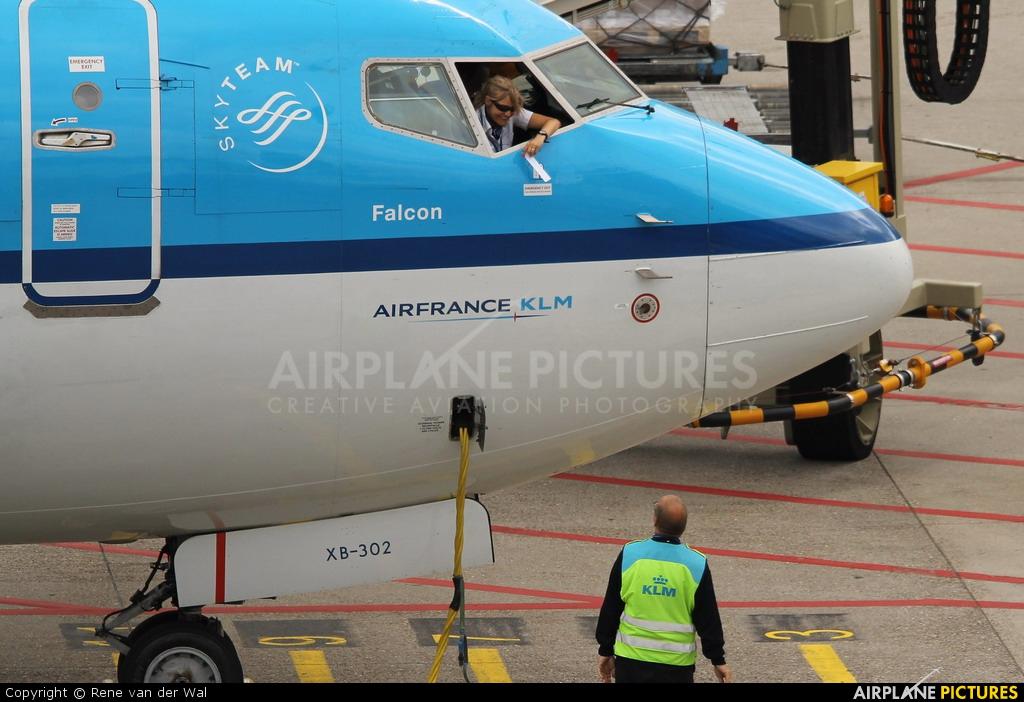 KLM PH-BXB aircraft at Amsterdam - Schiphol