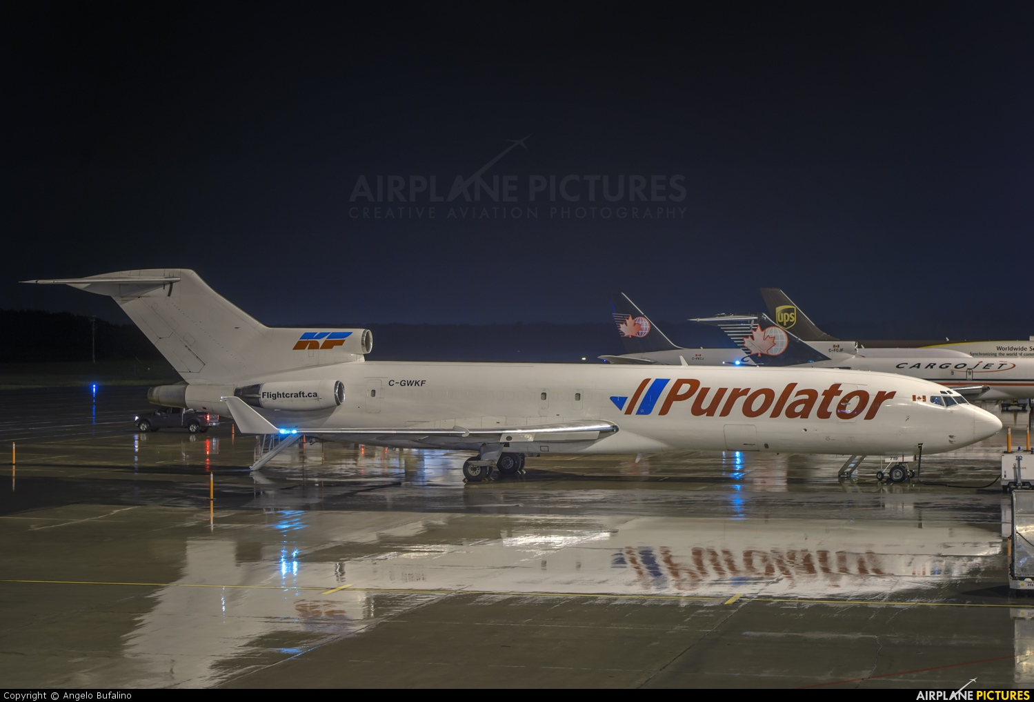 Purolator Courier (Kelowna Flightcraft Air Charter) C-GWKF aircraft at Montreal - Mirabel Intl