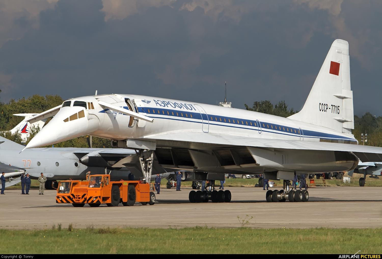 Create Blueprints Online Cccp 77115 Aeroflot Tupolev Tu 144 At Ramenskoye