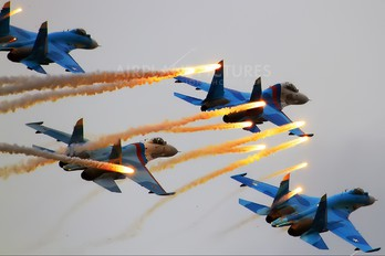 "10 - Russia - Air Force ""Falcons of Russia"" Sukhoi Su-27SM3"