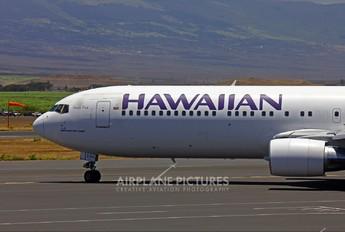 N596HA - Hawaiian Airlines Boeing 767-300