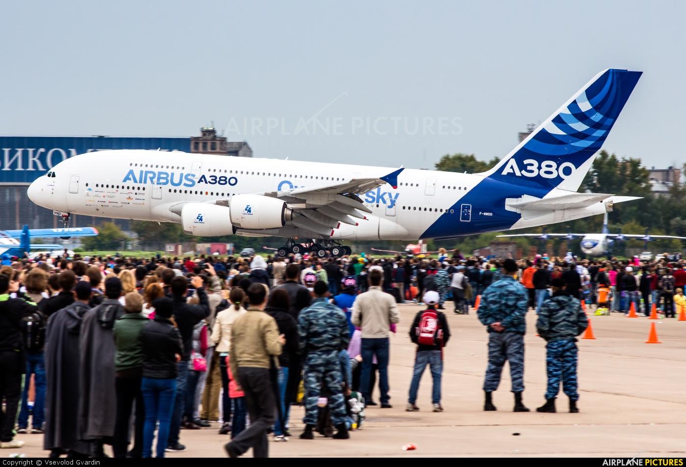 Airbus Industrie F-WWDD aircraft at Ramenskoye - Zhukovsky