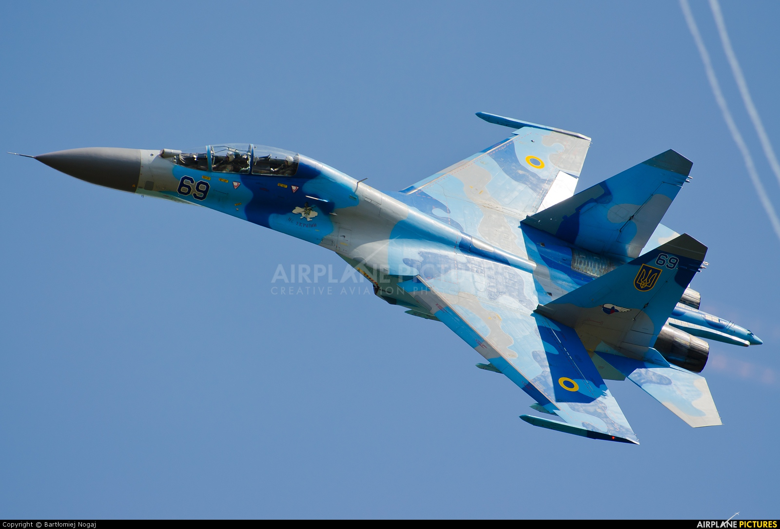 Ukraine - Air Force 69 aircraft at Radom - Sadków