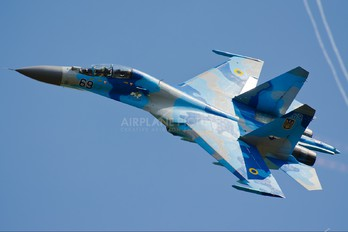 69 - Ukraine - Air Force Sukhoi Su-27M