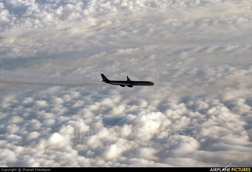 Virgin Atlantic - aircraft at In Flight - Kazakhstan