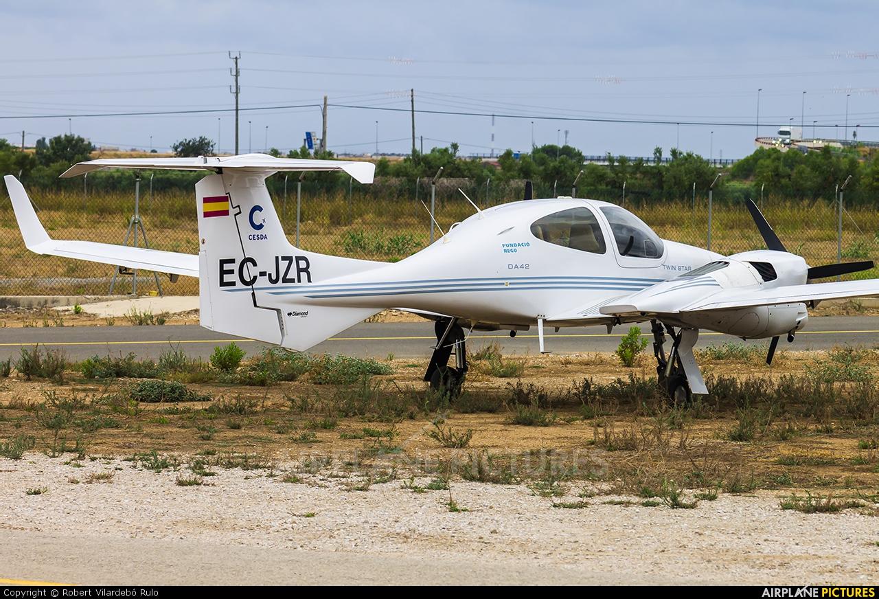 Cesda EC-JZR aircraft at Reus